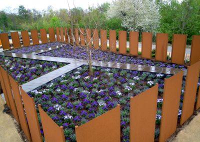 Garten in Blau, Zülpich